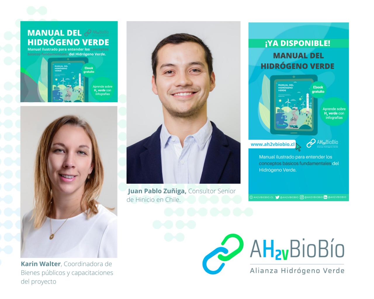 Desde la Región del Biobio se lanzó el primer manual ilustrado del H2 Verde